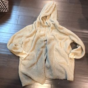 Sherpa cardigan
